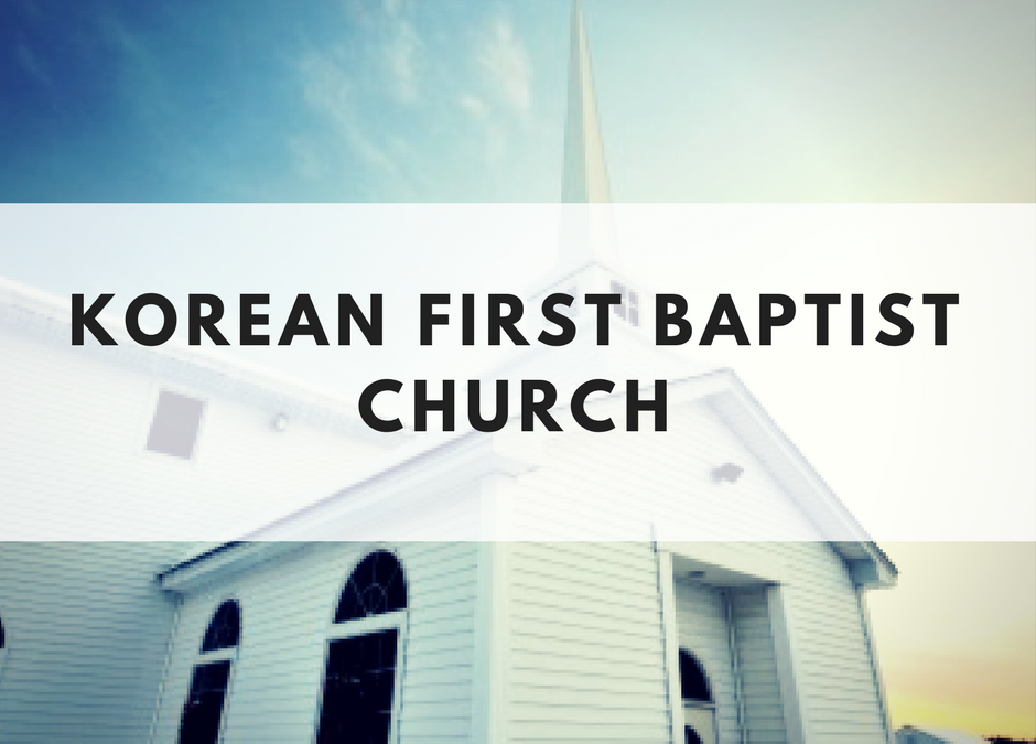 Korean First Baptist Church of Chattanooga