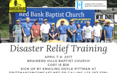 Associational Disaster Relief Training (April)