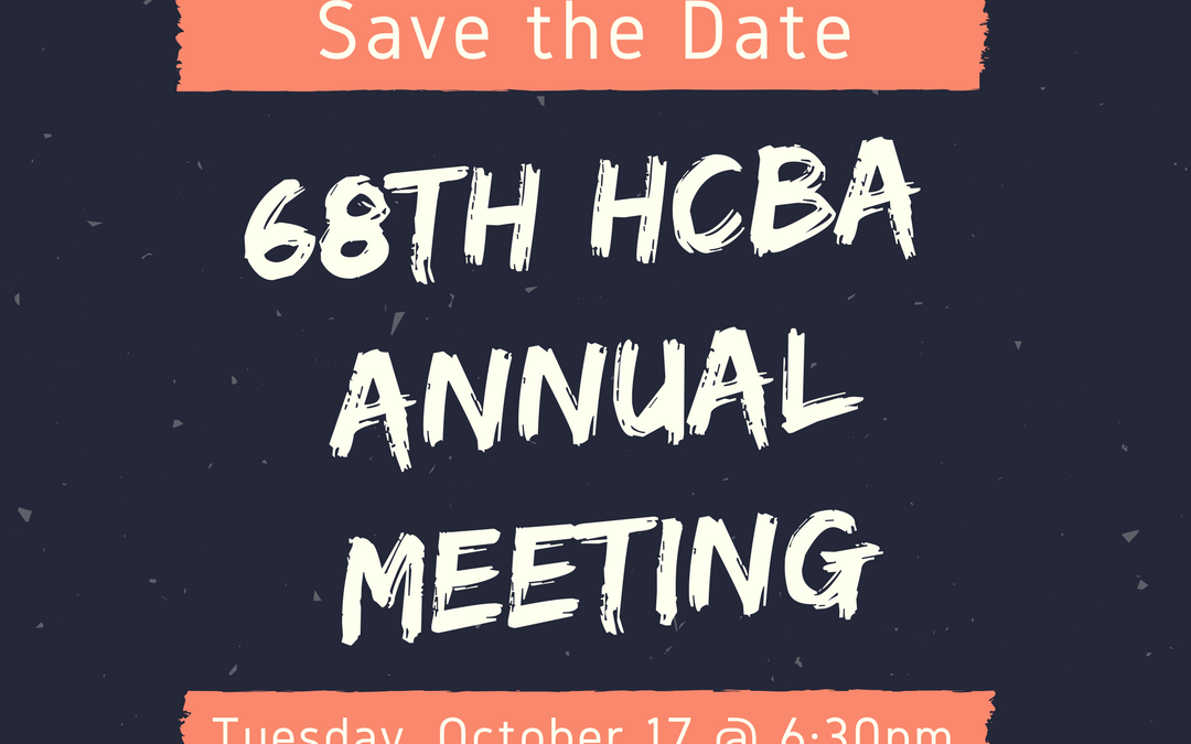 HCBA's 68th Annual Meeting
