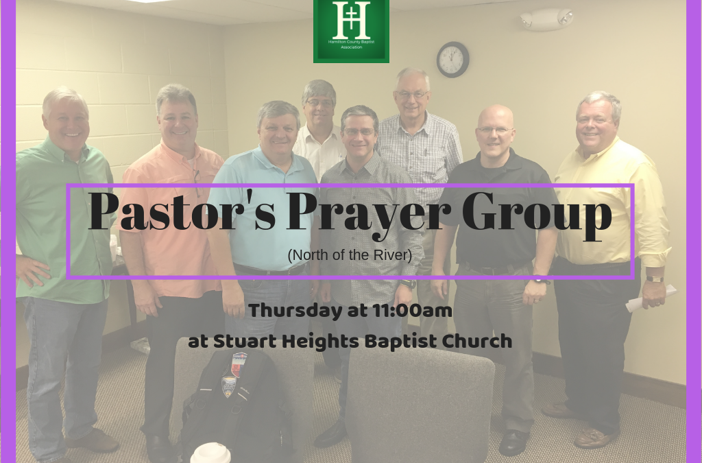 North of the River Pastor's Prayer Group (february)