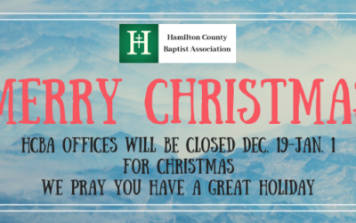 HCBA Offices Closed for Christmas