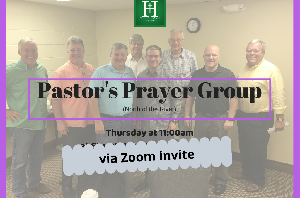 North of the River Pastor's Prayer Group