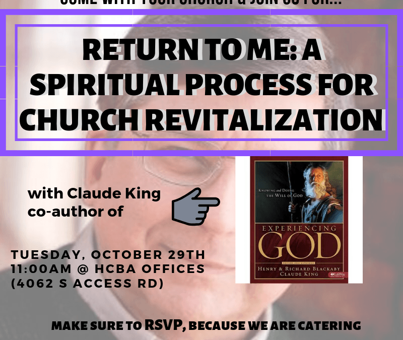 """Return to me"" with Claude King"