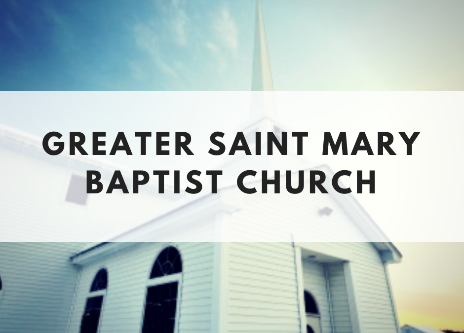 Greater St. Mary Baptist Church