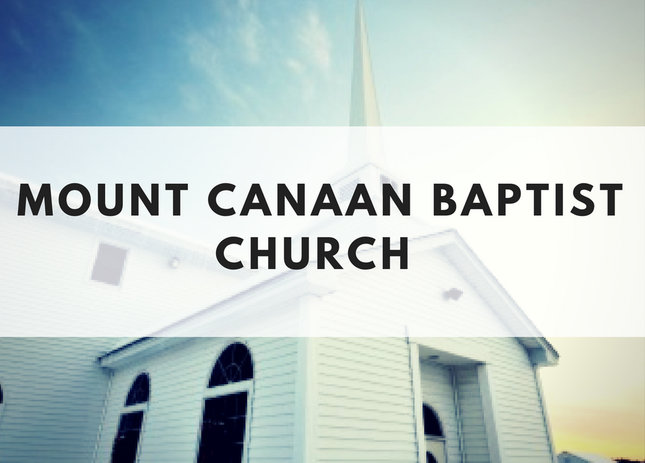 Mount Canaan Baptist Church