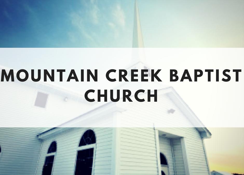 Mountain Creek Baptist Church