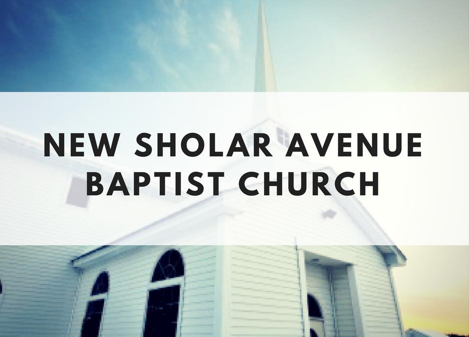 New Sholar Avenue Baptist Church