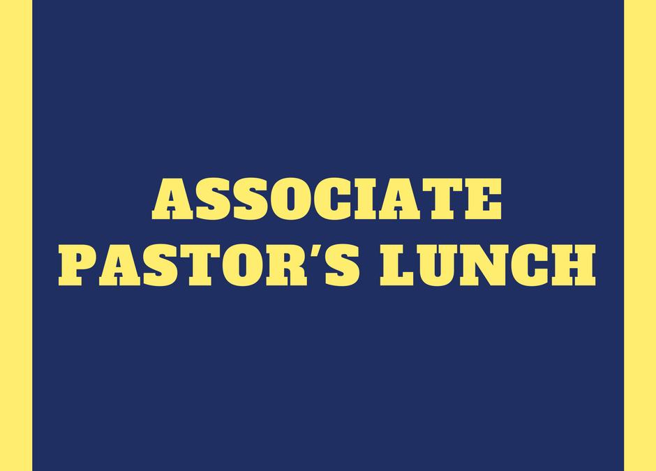 Associate Pastor's Network Lunch (June)
