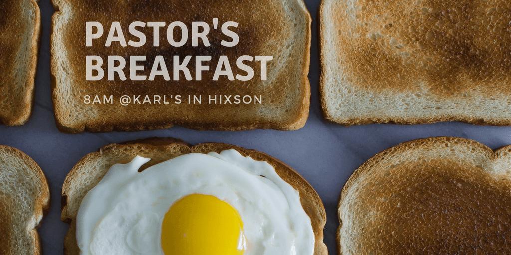Pastor's Breakfast at Karl's in Hixson