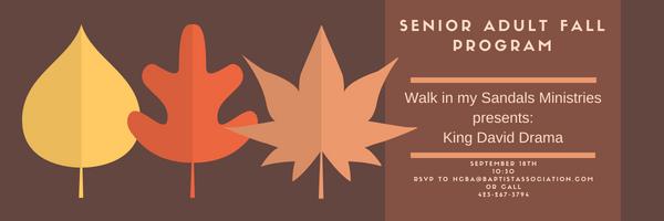 Senior Adult Fall Event – Walk in my Sandals Drama