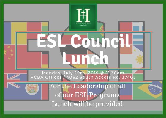 ESL Council Lunch