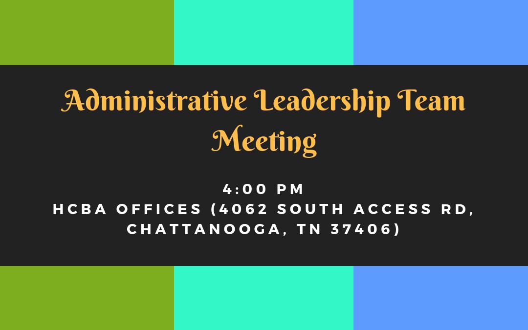 Administrative Leadership Team Meeting