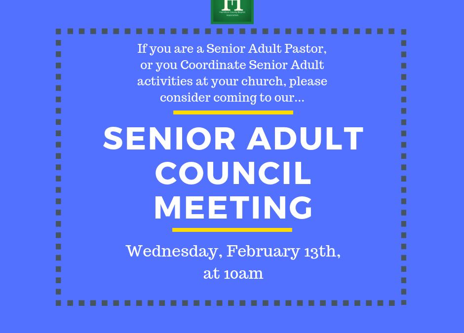 Senior Adult Council