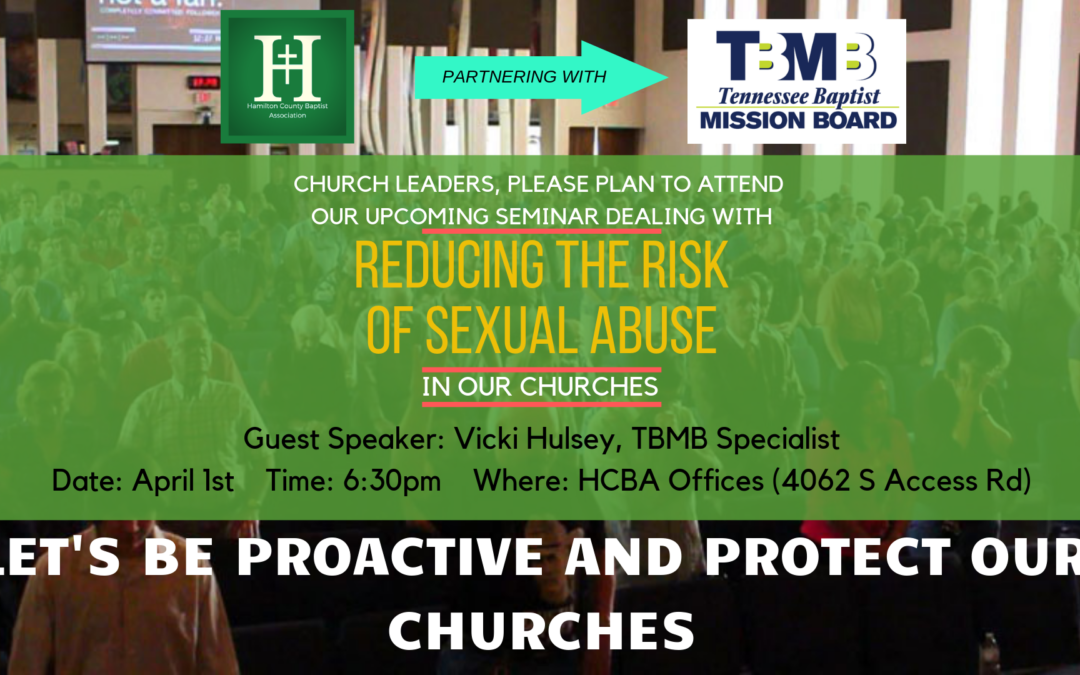 Seminar on Reducing the Risk of Sexual Abuse in Churches