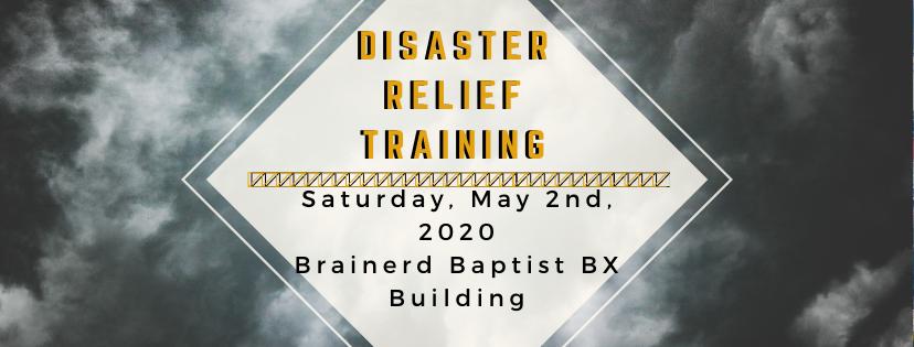 Disaster Relief Regional Training