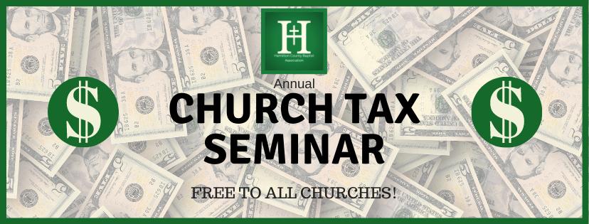 Annual Church Tax Seminar